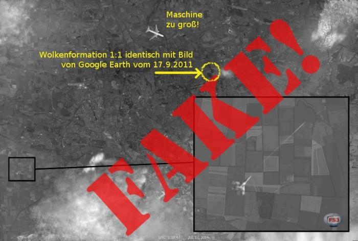 MH17 fake shootdown