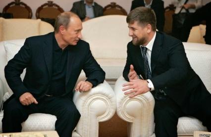 Putin und Kadyrow