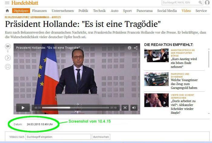 Hollande PK