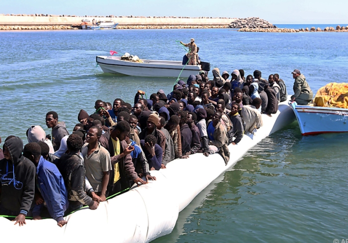 boot migranten