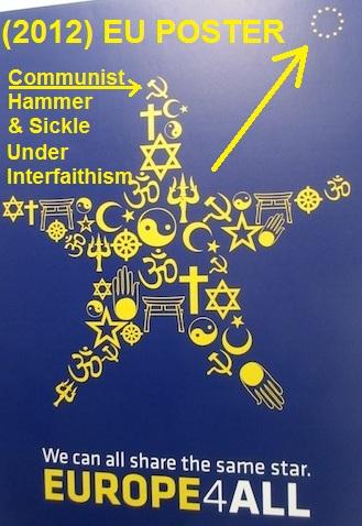 EU INTERFAITH 4TH REICH BAAL POSTER 2012