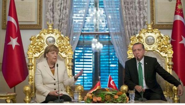 merkel_erdogan_ISIS Thron