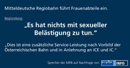 Frauenabteil MRB