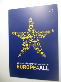 EU INTERFAITH 4TH REICH BAAL POSTER