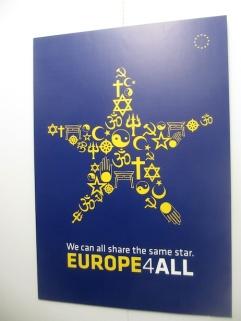 EU INTERFAITH 4TH REICH BAAL POSTER