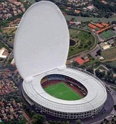 Fussball Stadion Klo