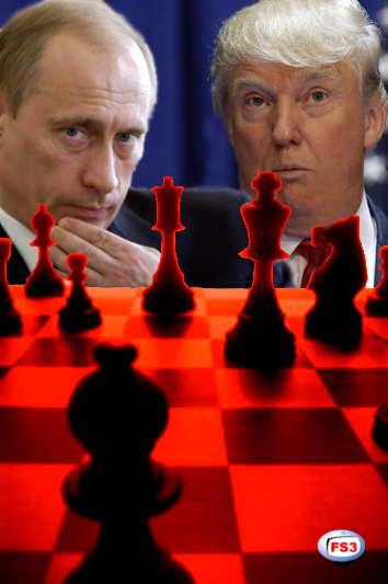 putin trump chess